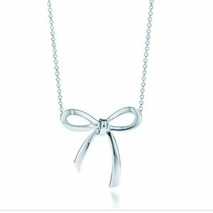 Tiffany and Co. Bow Necklace